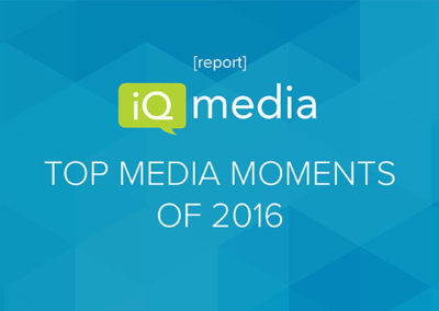 [report] The Top Media Moments of 2016 (that have nothing to do with the election)