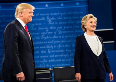 [article] 10/10/16 McClatchy DC: In a switch, Trump doesn't gobble up free coverage during 2nd presidential debate