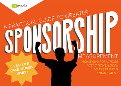 [eBook] A Practical Guide to Sponsorship Measurement